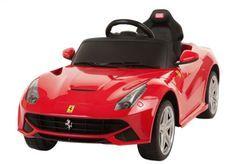 Voiture électrique Ferrari F12 Berlinetta rouge