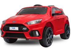 Voiture électrique Ford Focus RS sport rouge