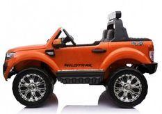 Voiture électrique Ford Ranger Deluxe orange 4x35W 12V