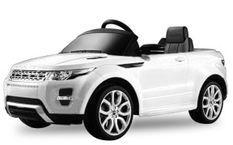 Voiture électrique Land Rover Evoque 2x35W blanc