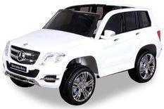 Voiture électrique Mercedes 2 places GLK 300 AMG blanche