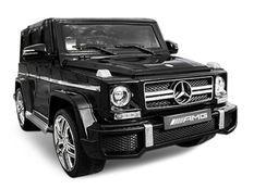 Voiture électrique Mercedes G63 luxe noir