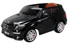 Voiture électrique Mercedes ML63 AMG noir