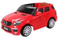 Voiture électrique Mercedes ML63 AMG rouge