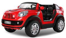 Voiture électrique rouge Mini Cooper Comberman 2x35W 12V