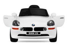 Voiture enfant électrique BMW Z8 blanc