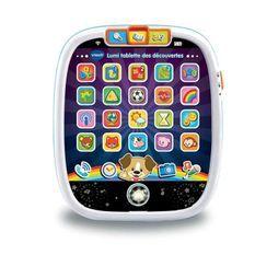 VTECH BABY - Lumi Tablette des Découvertes Blanche - Tablette Enfant