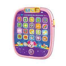 VTECH BABY - Tablette Enfant - Lumi Tablette des Découvertes Rose - Tablette Enfant