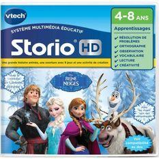 VTECH - Jeu Éducatif Storio - La Reine Des Neiges