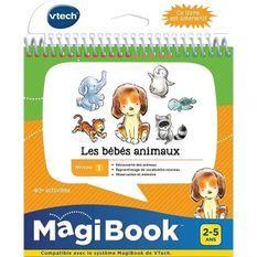 VTECH - Livre Interactif Magibook - Les Bébés Animaux