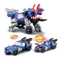 VTECH - Switch & Go Dinos Crash - Kaops, Le Tricératops