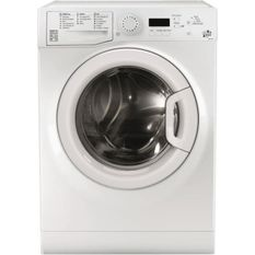 WHIRLPOOL - Machine a laver Posable Front Digit 10kg 1400 trs A+++ Blanche