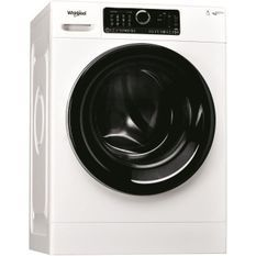 WHIRLPOOL - Machine a laver Posable Front SUPREME CARE 8kg 1400 trs A+++ blanche