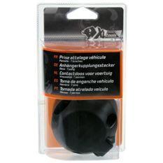 XLPT Prise attelage plastique. 7 broches. Femelle