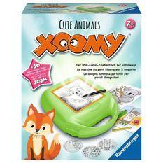 Xoomy midi cute animals - Ravensburger - Loisirs créatifs - Atelier a dessins - format voyage - Des 7 ans