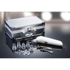YOGHI Mallette extracteur impuretés + 1 applicateur de creme yeux + 1 applicateur de creme visage - Blanc et argent