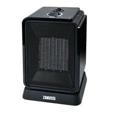ZANUSSI Chauffage céramique oscillant Cubik 1800W noir ou rouge