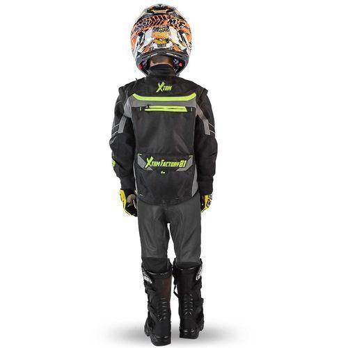 Blouson de protection enfant pour moto et quad Xtrm 81 - Photo n°2; ?>