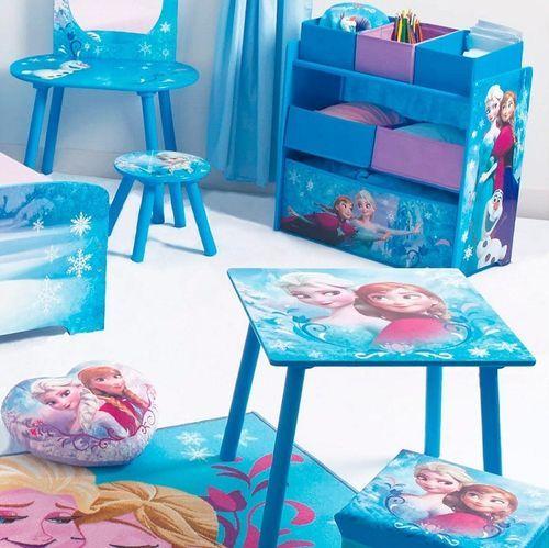 Chaise de rangement avec chaise Reine des neiges Disney - Photo n°3; ?>