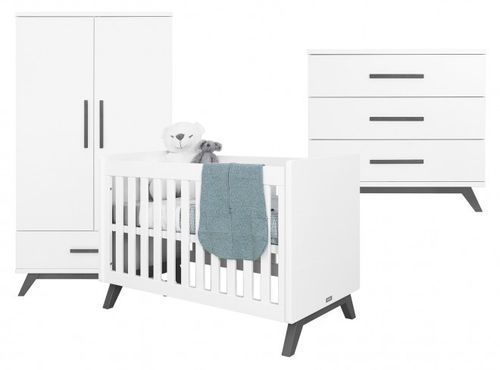 Chambre complète bébé Levi 3 pièces - Photo n°2; ?>