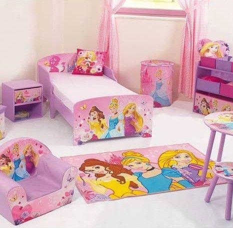 Coiffeuse avec chaise Princesses Disney - Photo n°2; ?>