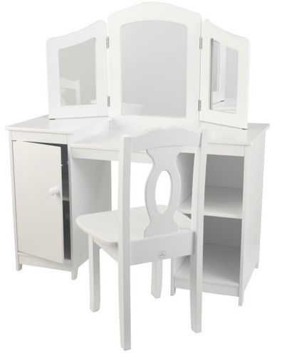 Coiffeuse et chaise de luxe Kidkraft 13018 - Photo n°2; ?>