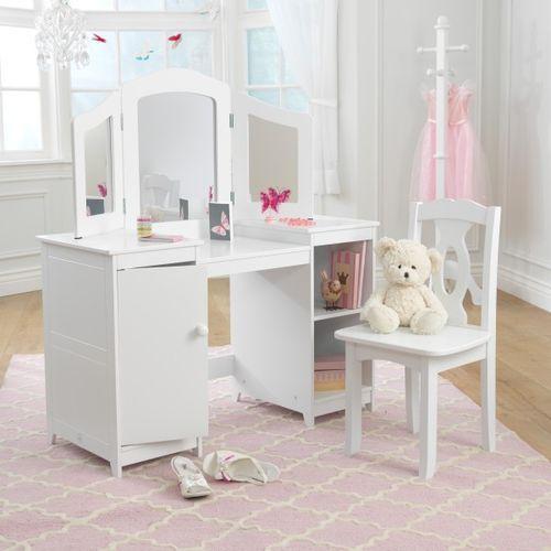 Coiffeuse et chaise de luxe Kidkraft 13018 - Photo n°3; ?>