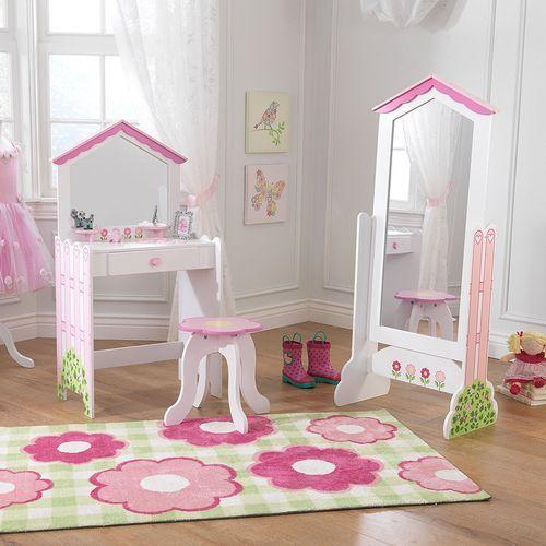 Coiffeuse et tabouret maison de poupées KidKraft 13035 - Photo n°2; ?>