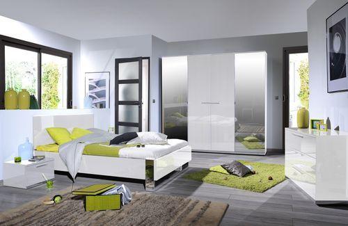 Commode 3 tiroirs bois laqué blanc Italya - Photo n°3; ?>