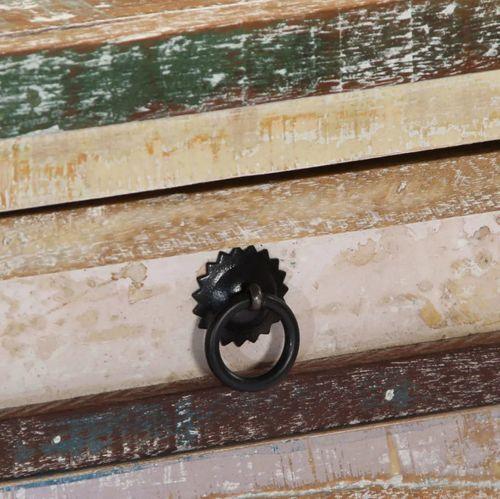 Console 2 tiroirs bois massif recyclé Moust - Photo n°2; ?>