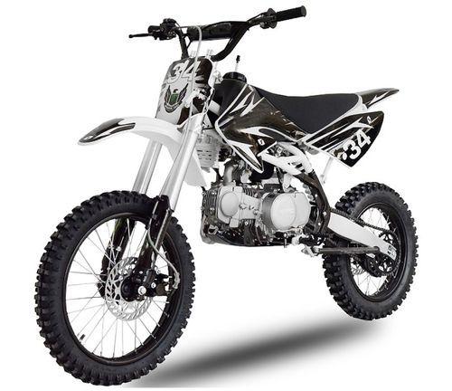 Dirt bike 140cc Drizzle 17/14 manuel 4 temps noir - Photo n°2; ?>