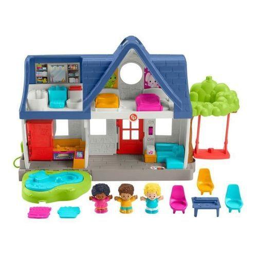 Fisher-Price - Maison Little People, coffret avec contenu d'Éveil Progressif - Jouet d'éveil 1er âge - Des 12 mois - Photo n°2; ?>