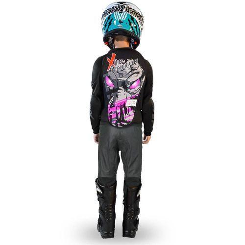 Gilet de protection enfant pour moto et quad rose Xtm factory - Photo n°2; ?>
