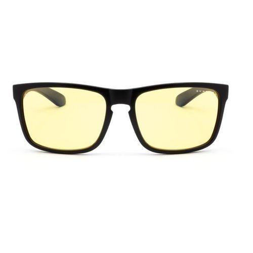 Gunnar - Intercept Onyx - Lunettes anti lumiere bleue - Monture noire et verres ambrés - filtrent 65% + réduction fatigue visuelle - Photo n°3; ?>