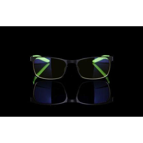Gunnar & Razer - FPS - Lunettes gamer anti lumiere bleue - Monture noire et verte verres ambrés - filtrent 65% - Photo n°3; ?>