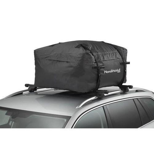 HANDIWORLD HandiHoldall 400 Litres - Coffre de toit souple - Pliable - Etanche - Noir - Photo n°2; ?>