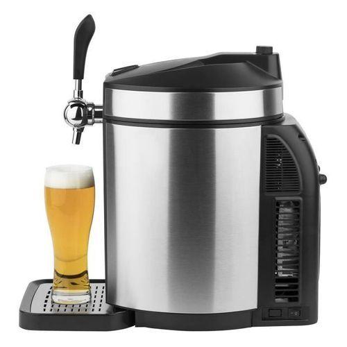 HKoeNIG Tireuse a biere – Pour tous les fûts de 5L – Noir/Inox - BW1880 - Photo n°3; ?>