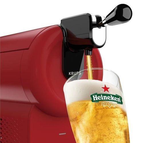 KRUPS YY4233FD Tireuse a biere- Machine a biere THE SUB COMPACT ROUGE 2 L - Pompe a biere - Biere pression - Photo n°3; ?>