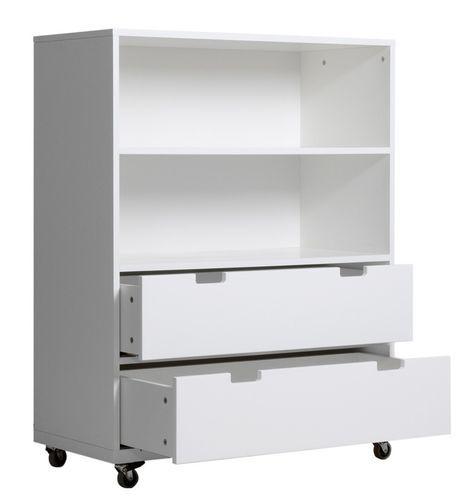 Meuble de rangement enfant 2 étagères 2 tiroirs Mixu - Photo n°2; ?>