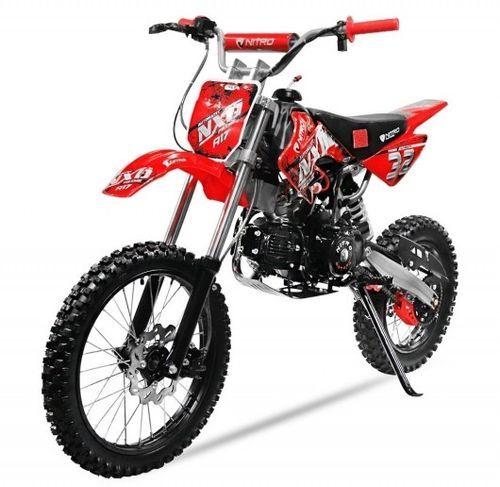 Moto cross 125cc automatique 17/14 rouge Sprinter - Photo n°3; ?>