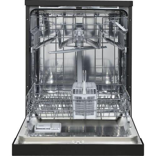 OCEANIC OCEALV1249BDD - Lave vaisselle posable - 12 couverts - 49 dB - A++ - Larg 59,8 cm - Noir - Photo n°2; ?>