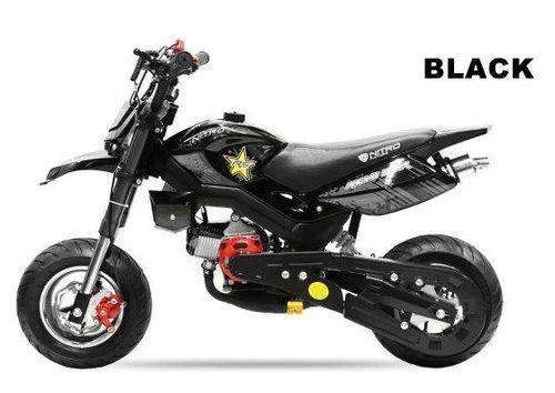Pocket bike 49cc Sport Hobbit 6,5/6,5 noir - Photo n°2; ?>
