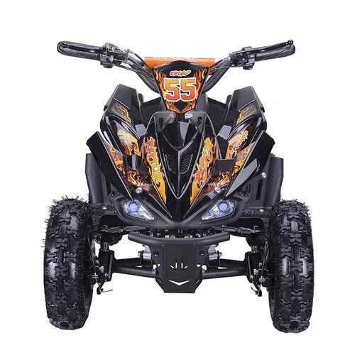 Quad électrique 800W Raptor orange avec LED - Photo n°3; ?>