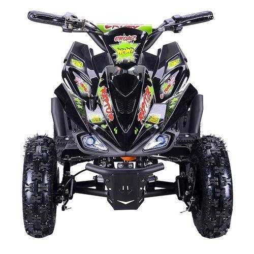 Quad électrique 800W Raptor vert avec LED - Photo n°2; ?>