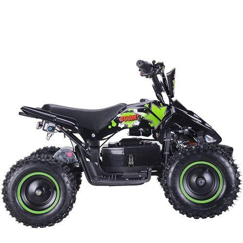 Quad électrique 800W Raptor vert avec LED - Photo n°3; ?>