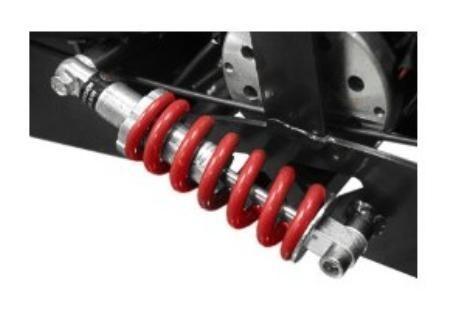 Trottinette électrique avec siège 1000W 36V Twister Jaune - Photo n°3; ?>