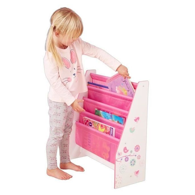 Bibliotheque Enfant Rose Fille HelloHome - Worlds Apart - Photo n°1