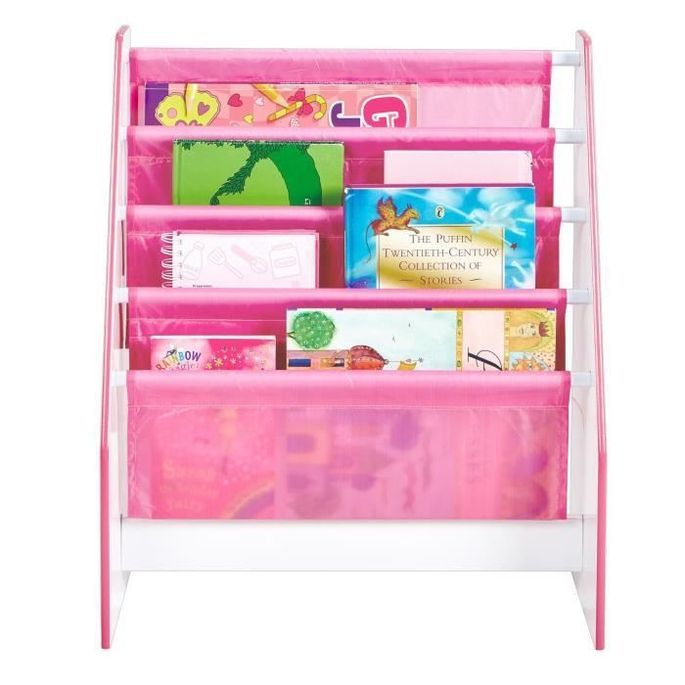 Bibliotheque Enfant Rose Fille HelloHome - Worlds Apart - Photo n°3