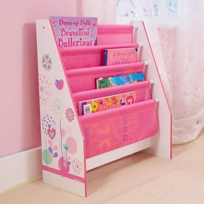 Bibliotheque Enfant Rose Fille HelloHome - Worlds Apart - Photo n°4