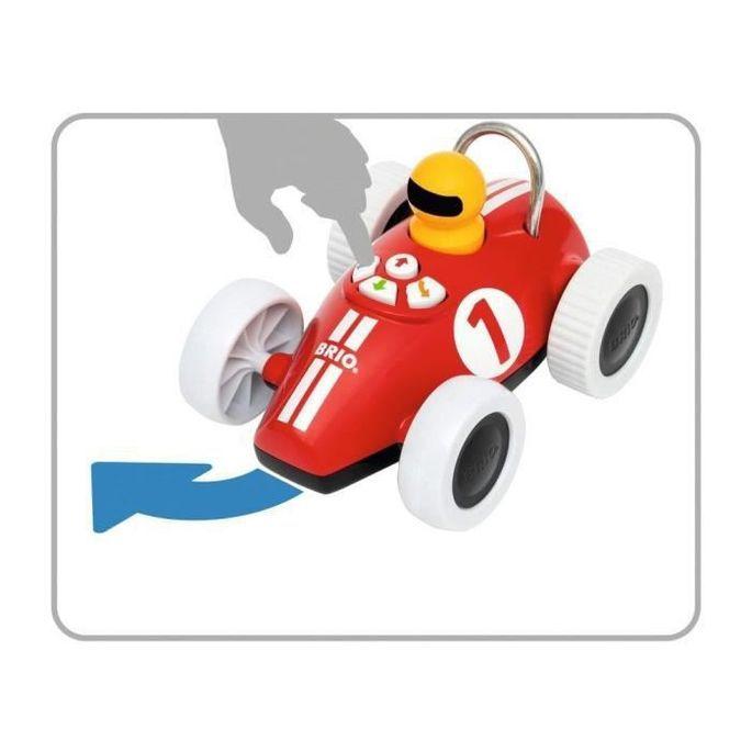 Brio Voiture de course Play & Learn - Boutons directionnels - Jouet d'éveil Premier âge - Ravensburger - Des 18 mois - 30234 - Photo n°3